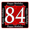 84TH BIRTHDAY COASTER PARTY SUPPLIES