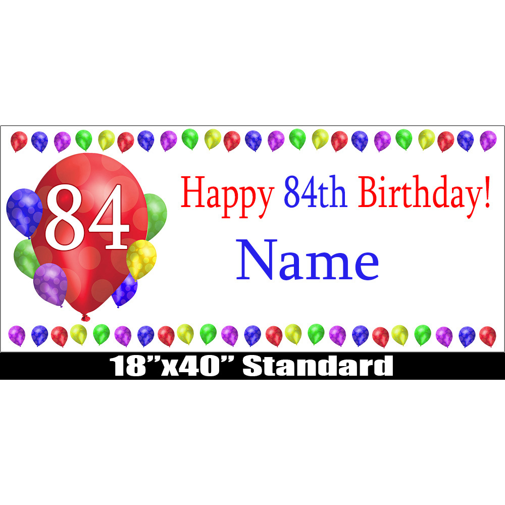 Wonderful 84 happy birthday party supplies - 84th birthday balloon blast  KF19
