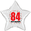 84TH BIRTHDAY STAR BALLOON PARTY SUPPLIES