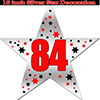 84TH SILVER STAR DECORATION PARTY SUPPLIES