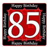 85TH BIRTHDAY COASTER PARTY SUPPLIES