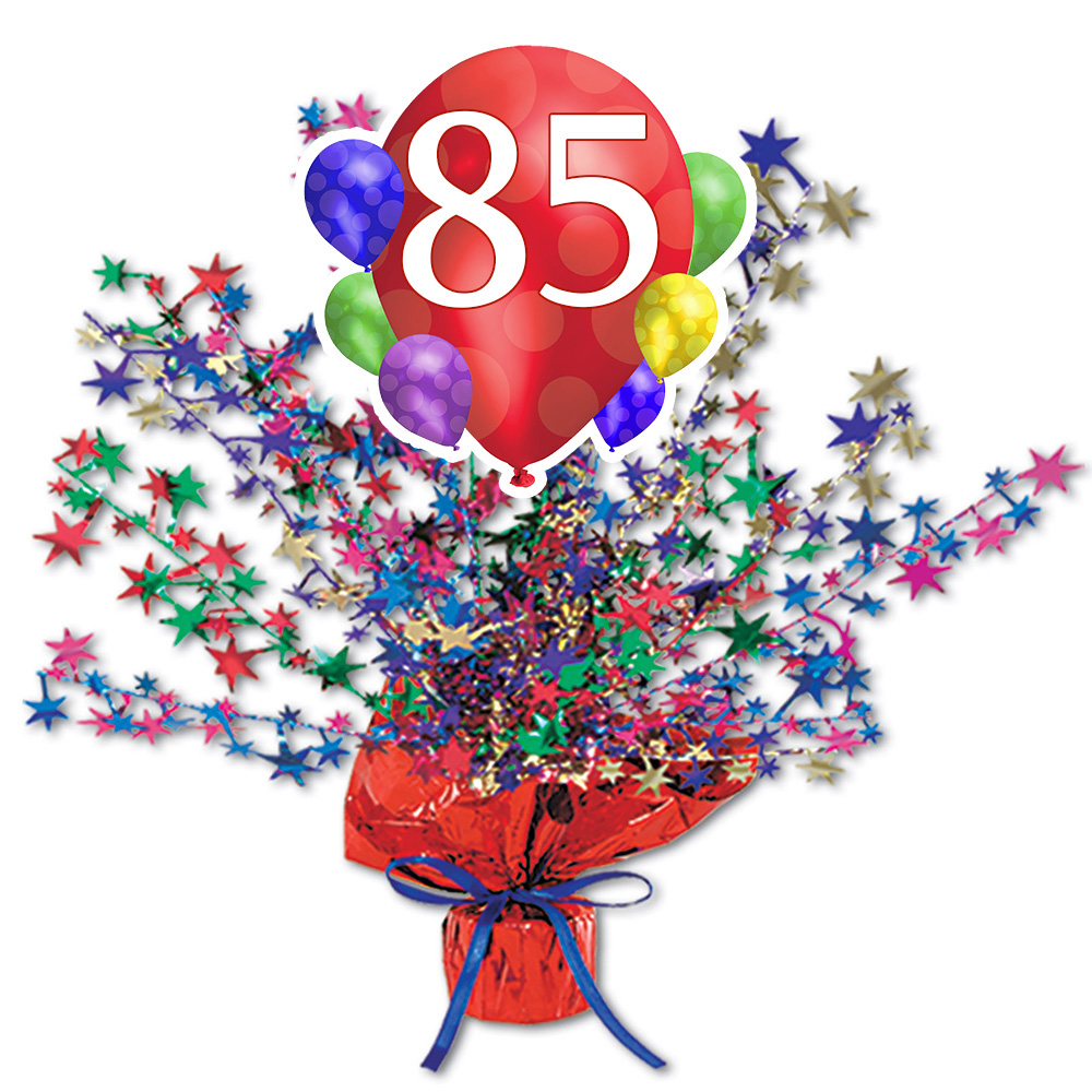Click For Larger Picture Of 85TH BALLOON BLAST CENTERPIECE PARTY SUPPLIES