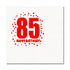 85TH BIRTHDAY LUNCHEON NAPKIN 16-PKG PARTY SUPPLIES