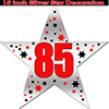 85TH SILVER STAR DECORATION PARTY SUPPLIES