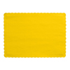 GOLDEN YELLOW PLACEMAT PARTY SUPPLIES