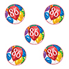 86TH BIRTHDAY BALLOON BLAST DECO FETTI PARTY SUPPLIES