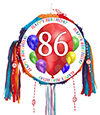 86TH BIRTHDAY BALLOON BLAST PINATA PARTY SUPPLIES
