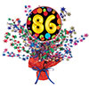 86TH BIRTHDAY BALLOON CENTERPIECE PARTY SUPPLIES