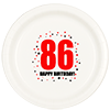 86TH BIRTHDAY DINNER PLATE 8-PKG PARTY SUPPLIES