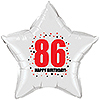 86TH BIRTHDAY STAR BALLOON PARTY SUPPLIES