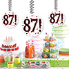 87! DANGLER DECORATION 3/PKG PARTY SUPPLIES