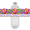 87TH BALLOON BLAST WATER BOTTLE LABEL PARTY SUPPLIES