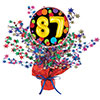 87TH BIRTHDAY BALLOON CENTERPIECE PARTY SUPPLIES