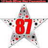 87TH SILVER STAR DECORATION PARTY SUPPLIES