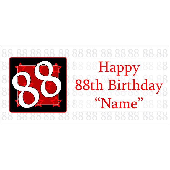 88 happy birthday party supplies