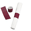 NAPKIN RINGS BURGUNDY 500/BAG PARTY SUPPLIES