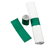 NAPKIN RINGS HUNTER GREEN 500/PKG PARTY SUPPLIES