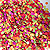 CONFETTI BULK MULTI-COLORED PAPER (1LB) PARTY SUPPLIES