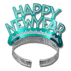 Click for larger picture of NEW YEAR TIARA (EACH) PARTY SUPPLIES