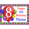 8TH BALLOON BLAST CUSTOMIZED PLACEMAT PARTY SUPPLIES