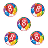 8TH BIRTHDAY BALLOON BLAST DECO FETTI PARTY SUPPLIES