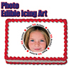 8TH BIRTHDAY PHOTO EDIBLE ICING ART PARTY SUPPLIES