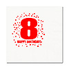 8TH BIRTHDAY LUNCHEON NAPKIN 16-PKG PARTY SUPPLIES