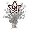9! SILVER STAR CENTERPIECE PARTY SUPPLIES