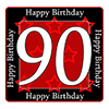 90TH BIRTHDAY COASTER PARTY SUPPLIES