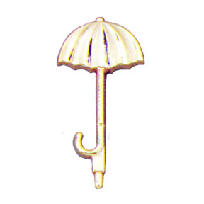 Click for larger picture of GOLD UMBRELLA PICK 6/CT PARTY SUPPLIES