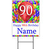 90TH CUSTOMIZED BALLOON BLAST YARD SIGN PARTY SUPPLIES