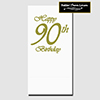 90TH CLASSY BIRTHDAY DINNER CATER NAPKIN PARTY SUPPLIES