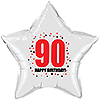 90TH BIRTHDAY STAR BALLOON PARTY SUPPLIES
