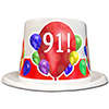 91ST BIRTHDAY BALLOON BLAST TOP HAT PARTY SUPPLIES