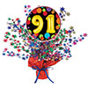91ST BIRTHDAY BALLOON CENTERPIECE PARTY SUPPLIES