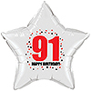 91ST BIRTHDAY STAR BALLOON PARTY SUPPLIES