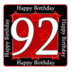 92ND BIRTHDAY COASTER PARTY SUPPLIES