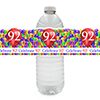 92ND BALLOON BLAST WATER BOTTLE LABEL PARTY SUPPLIES