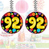 92ND BIRTHDAY BALLOON DANGLER PARTY SUPPLIES