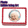92ND BIRTHDAY PHOTO EDIBLE ICING ART PARTY SUPPLIES