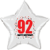 92ND BIRTHDAY STAR BALLOON PARTY SUPPLIES