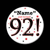 92! CUSTOMIZED BUTTON PARTY SUPPLIES