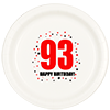 93RD BIRTHDAY DINNER PLATE 8-PKG PARTY SUPPLIES