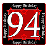 94TH BIRTHDAY COASTER PARTY SUPPLIES