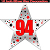 94TH SILVER STAR DECORATION PARTY SUPPLIES