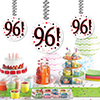 96! DANGLER DECORATION 3/PKG PARTY SUPPLIES