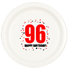 96TH BIRTHDAY DINNER PLATE 8-PKG PARTY SUPPLIES