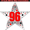 96TH SILVER STAR DECORATION PARTY SUPPLIES
