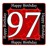 97TH BIRTHDAY COASTER PARTY SUPPLIES