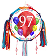 97TH BIRTHDAY BALLOON BLAST PINATA PARTY SUPPLIES